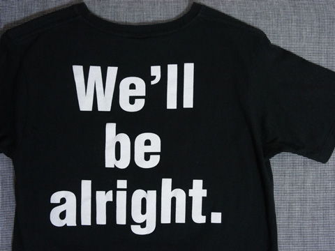 We'll be alright.